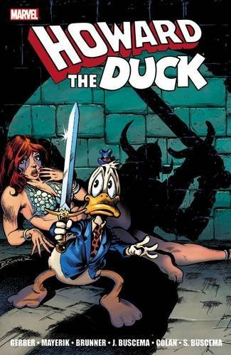 Marvel Comics Howard The Duck The Complete Collection Volume 1
