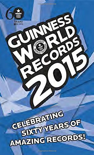 Craig Glenday Guinness World Records 2015
