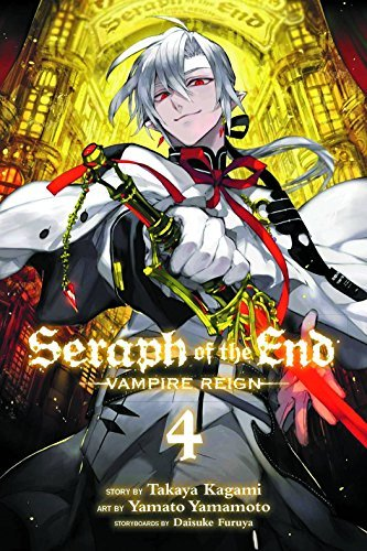Takaya Kagami Seraph Of The End Vol. 4 Vampire Reign