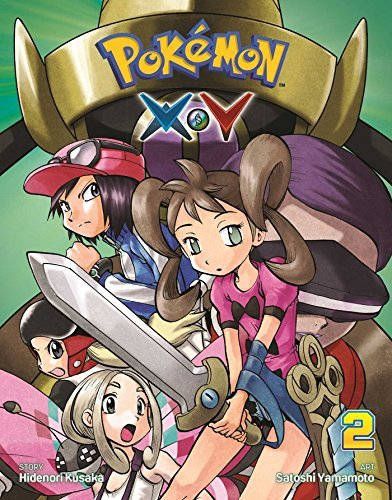 Hidenori Kusaka Pokemon X Y Vol. 2