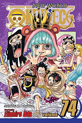 Eiichiro Oda One Piece Vol. 74