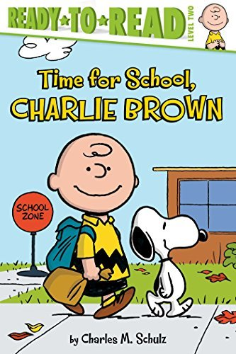 Charles M. Schulz Time For School Charlie Brown