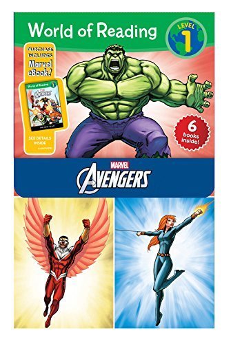 Disney Book Group Avengers Set [with E Books]