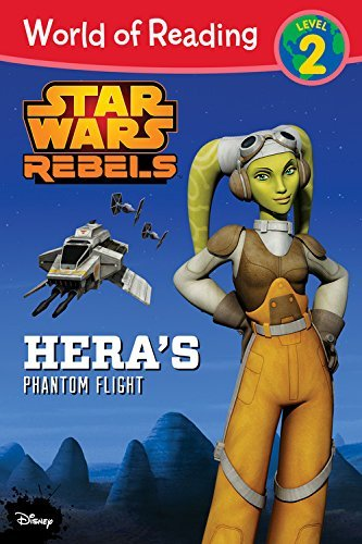 Disney Book Group World Of Reading Star Wars Rebels Hera's Phantom F Level 2