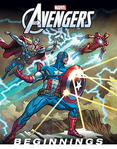 Disney Book Group The Avengers Beginnings