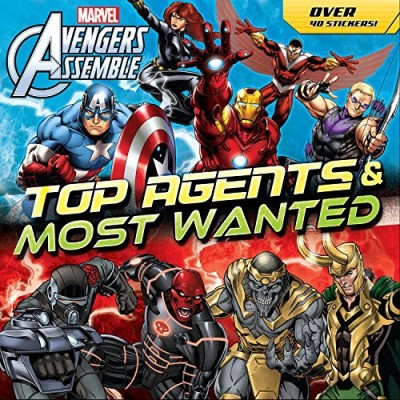 Marvel Press Book Group Avengers Top Agents & Most Wanted