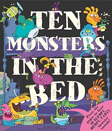 Katie Cotton Ten Monsters In The Bed