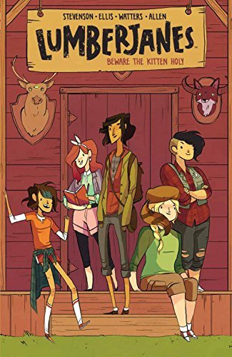 Noelle Stevenson Lumberjanes Vol. 1 Beware The Kitten Holy