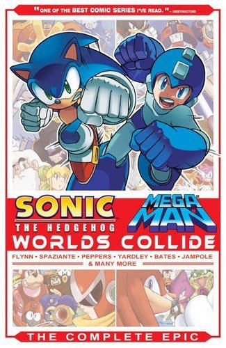 Sonic Mega Man Scribes Sonic Mega Man Worlds Collide The Complete Epic