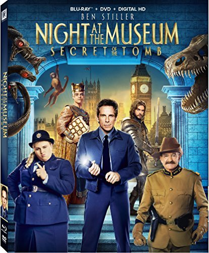 Night At The Museum Secret Of The Tomb Stiller Williams Wilson Blu Ray Dc Pg