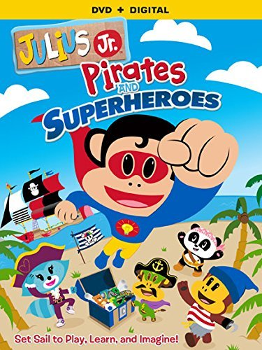 Julius Jr. Pirates & Superheroes Julius Jr. Pirates & Superheroes DVD