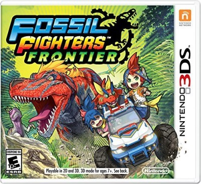 Nintendo 3ds Fossil Fighters Frontier