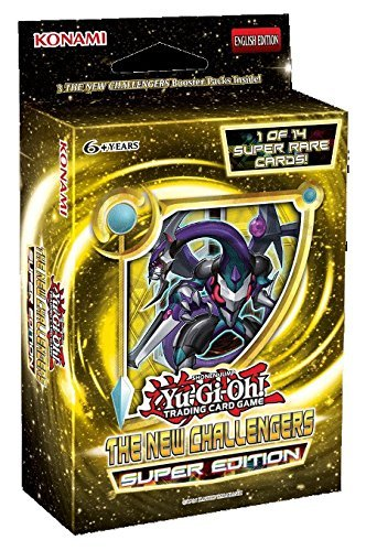 Yu Gi Oh Cards New Challengers Super Edition Box