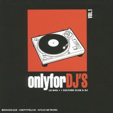 Only For Dj's Vol. 1 Only For Dj's Import Eu 4 CD Set