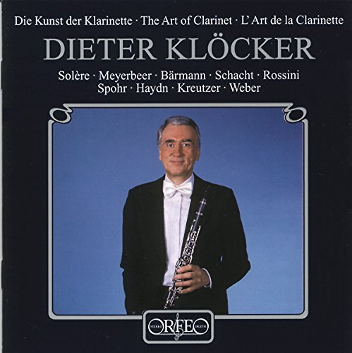 Dieter Klocker Art Of The Clarinet Klocker (cl)