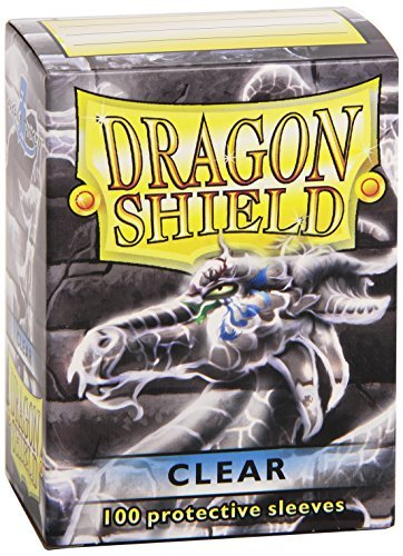 Card Sleeves Dragon Shield Clear 100 Ct. Standard Size