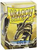 Card Sleeves Dragon Shield Gold 100 Ct. Standard Size
