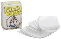 Card Sleeves Dragon Shield White 100 Ct. Standard Size