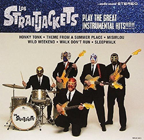 "Los Straitjackets Play Some Of The Great Instrumental Hits 10"" Vinyl W Download"