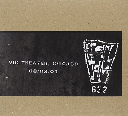 Pearl Jam Official Bootleg Vic Theatre Chicago 8 2 07