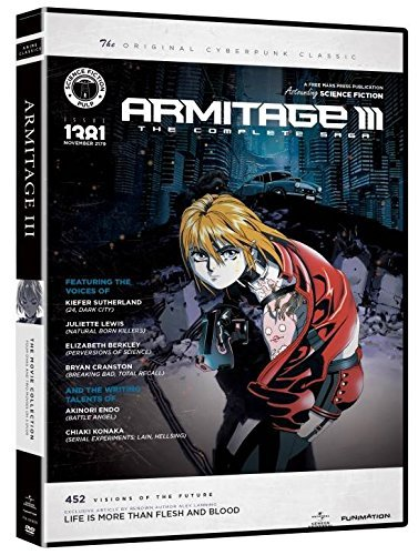 Armitage Iii Movie Collection DVD Nr