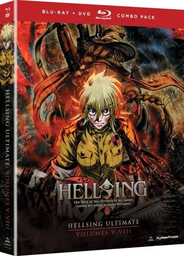 Hellsing Ultimate Vol. 5 8 Box Hellsing Blu Ray Ws Tvma Incl. DVD