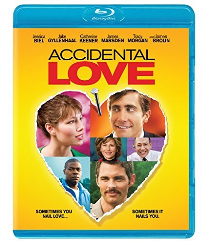 Accidental Love Biel Gyllenhaal Keener Marsden Morgan Blu Ray Pg13