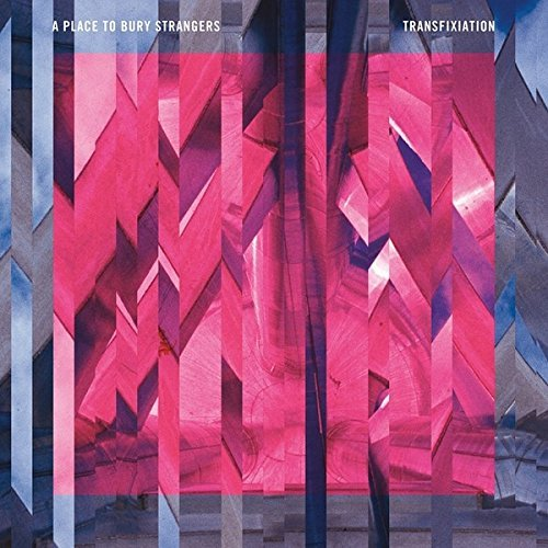 A Place To Bury Strangers Transfixiation Limited Edition Pink & Blue Colored Vinyl
