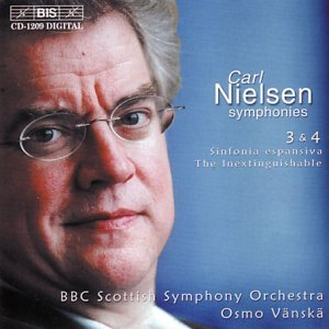 C. Nielsen Sym 3 4 Komsi (sop) Immler (bari) Vanska Bbc Scottish So