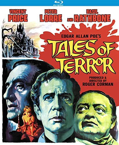 Tales Of Terror (1962) Price Lorre Rathbone Blu Ray Nr