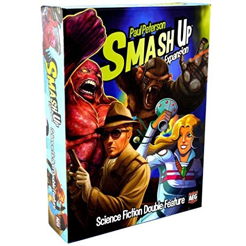 Card Game Smash Up Science Fiction Double Feature