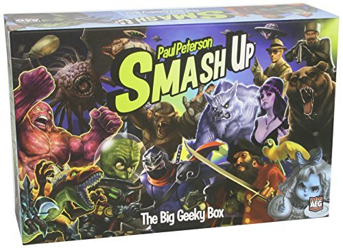 Card Game Smash Up Big Geeky Box
