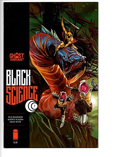 Comic Book Black Science