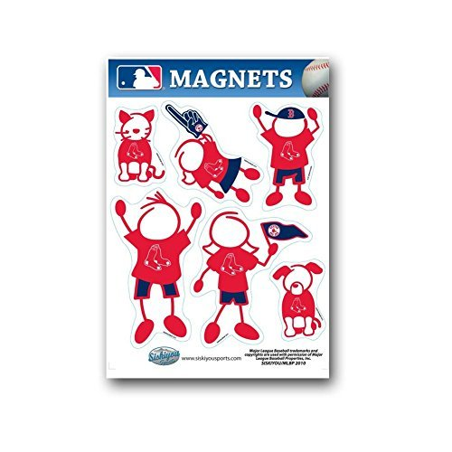 Magnet Set Boston Red Sox Family