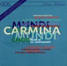 Carmina Mundi Chamber Choir Choir Music Of The 20th Centur Nickoll Carmina Mundi Aachen