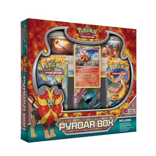 Pokemon Cards Pyroar Box