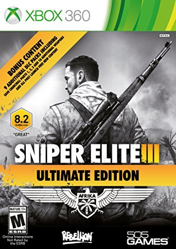 Xbox 360 Sniper Elite Iii Ultimate Edition