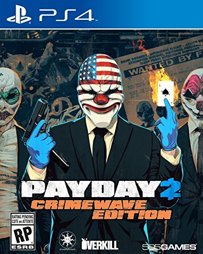 Ps4 Payday 2 Crimewave