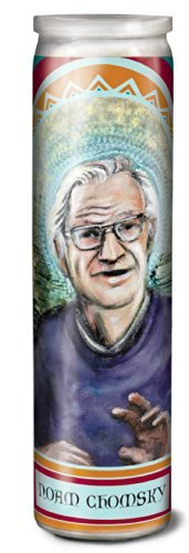 Boutique Noam Chomsky Secular Saint Candle