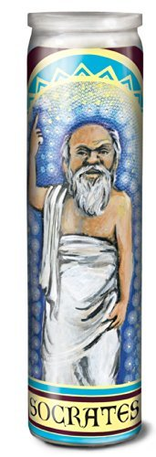 Boutique Socrates Secular Saint Candle