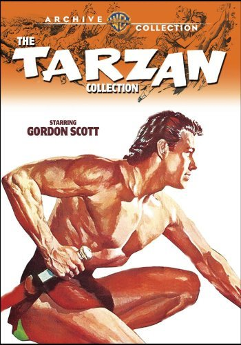 Tarzan Colllection Scott Gordon DVD Mod This Item Is Made On Demand Could Take 2 3 Weeks For Delivery