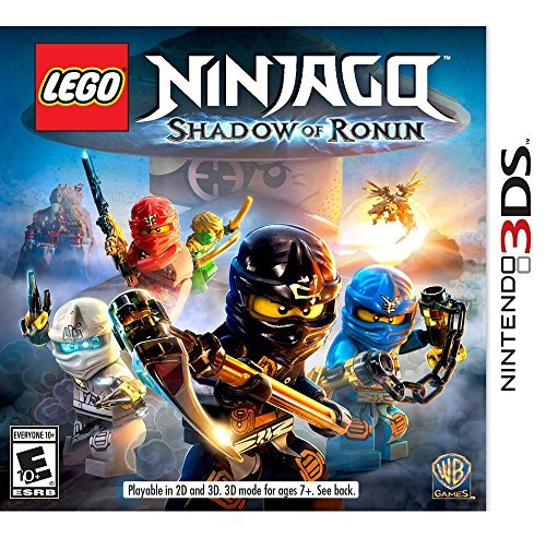 Nintendo 3ds Lego Ninjago Shadow Of Ronin