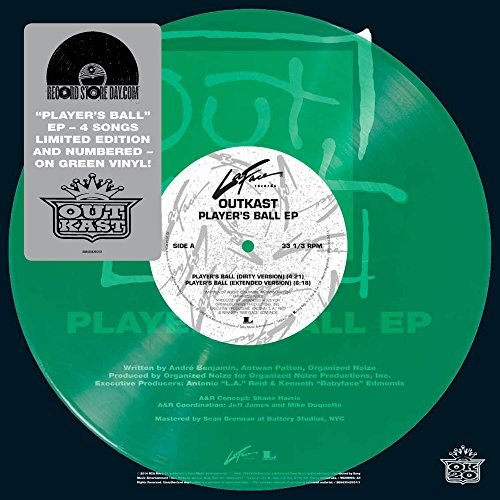 Outkast Players Ball (green Vinyl)