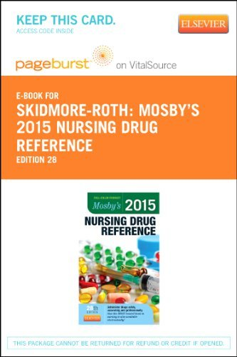 Linda Skidmore Roth Mosby's 2015 Nursing Drug Reference Elsevier Ebo 0028 Edition;