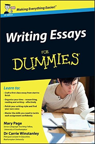 Mary Page Writing Essays For Dummies Uk