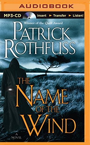 Patrick Rothfuss The Name Of The Wind Mp3 CD