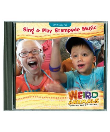 Group Publishing Weird Animals Sing & Play Stampede Music CD