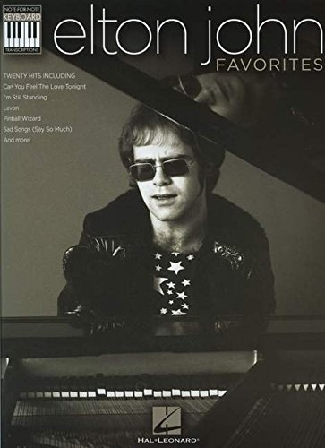 Elton John Elton John Favorites Note For Note Keyboard Transcriptions