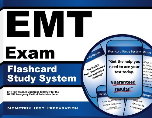 Emt Exam Secrets Test Prep Emt Exam Flashcard Study System Emt Test Practice Questions And Review For The Nr