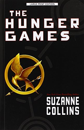 Suzanne Collins The Hunger Games Large Print